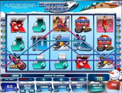 Betchan featuring the Video Slots Winter Games with a maximum payout of $45,000