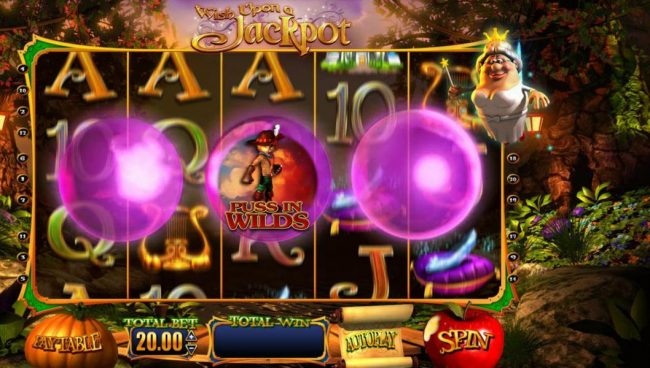 Fika Casino featuring the Video Slots Wish Upon a Jackpot with a maximum payout of $25,000