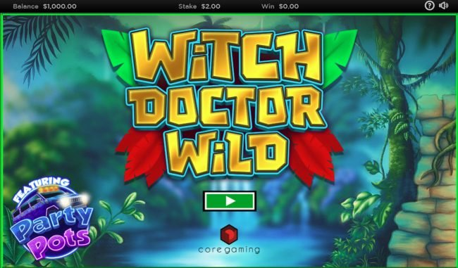 Play slots at Slot King: Slot King featuring the Video Slots Witch Doctor Wild with a maximum payout of $250,000