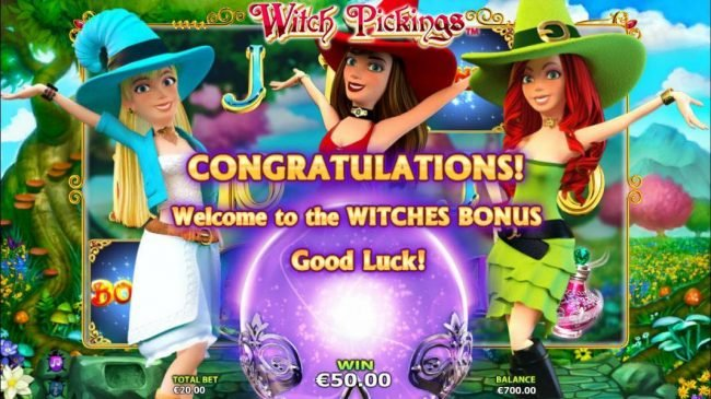 Welcome to the Witches Bonus feature.