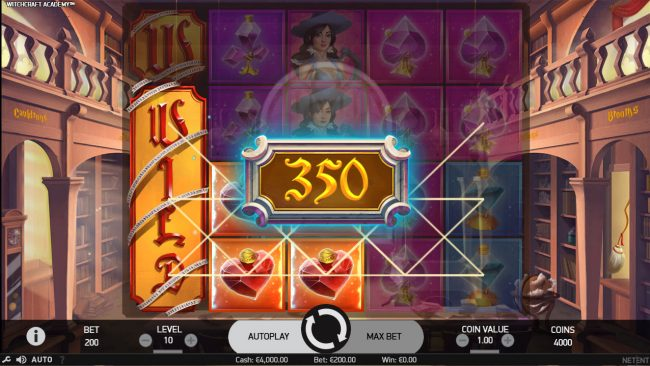 Freaky Vegas featuring the Video Slots Witchcraft Academy with a maximum payout of $160,000