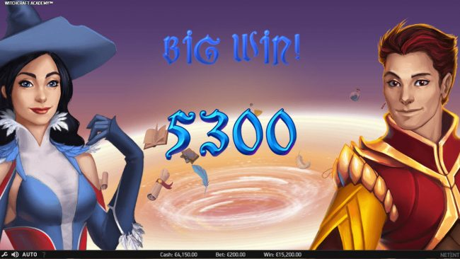 Wild Wild Bet featuring the Video Slots Witchcraft Academy with a maximum payout of $160,000