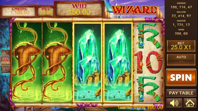 Play slots at Play 24 Bet: Play 24 Bet featuring the Video Slots Wizard with a maximum payout of $450,000