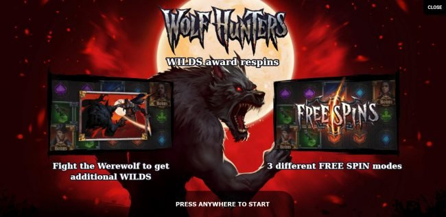 Play slots at Mr Green: Mr Green featuring the Video Slots Wolf Hunters with a maximum payout of $50,000