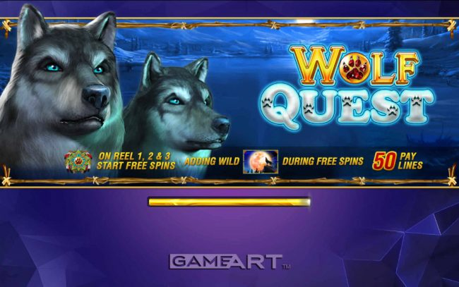 Mongoose Casino featuring the Video Slots Wolf Quest with a maximum payout of $250