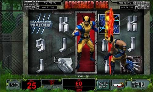 Play slots at Casino.DK: Casino.DK featuring the Video Slots Wolverine with a maximum payout of $75,000