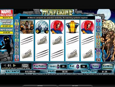 Play slots at 21 Prive Casino: 21 Prive Casino featuring the video-Slots Wolverine with a maximum payout of 3,000x