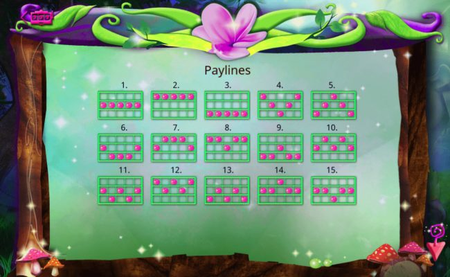 Boo Casino featuring the Video Slots Wondrous Garden with a maximum payout of $30,000
