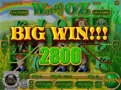 A 2,800 big win awarded