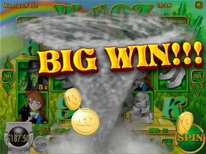 Tropica featuring the Video Slots World of OZ with a maximum payout of $1,875