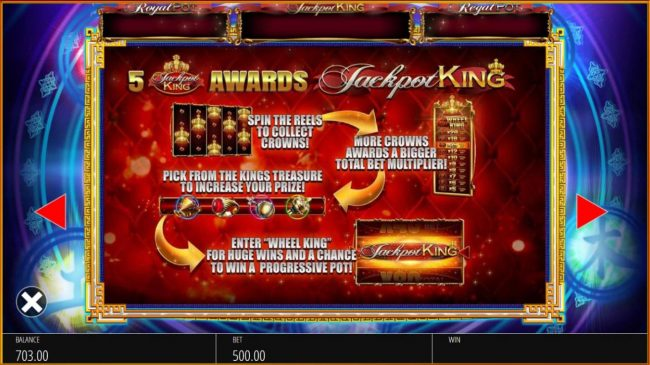 Slots Cafe featuring the Video Slots Wu Xing with a maximum payout of $10,000