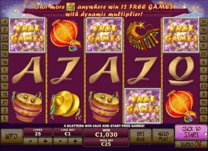 Euro Grand featuring the Video Slots Wu Long with a maximum payout of $250,000