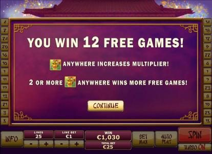 Titanbet.it featuring the Video Slots Wu Long with a maximum payout of $250,000