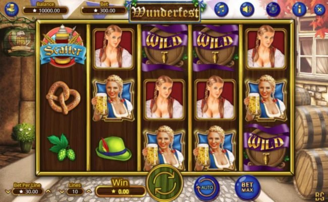 Play slots at Vegas Crest: Vegas Crest featuring the Video Slots Wunderfest with a maximum payout of $300,000