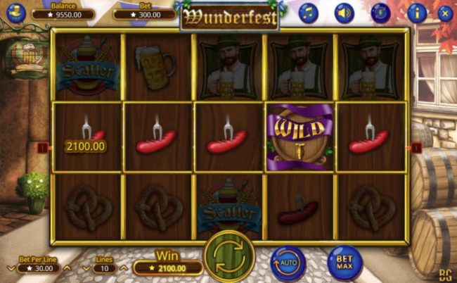NordiCasino featuring the Video Slots Wunderfest with a maximum payout of $300,000