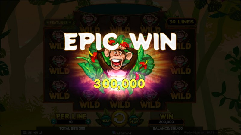 Wacky Monkey :: Epic Win