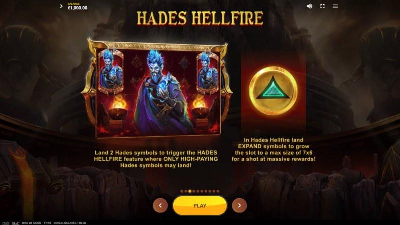 War of Gods :: Hades Hellfire Feature