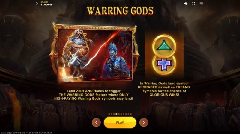 War of Gods :: Warring Gods Feature
