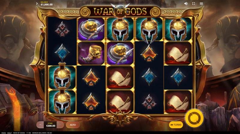 War of Gods :: Main Game Board