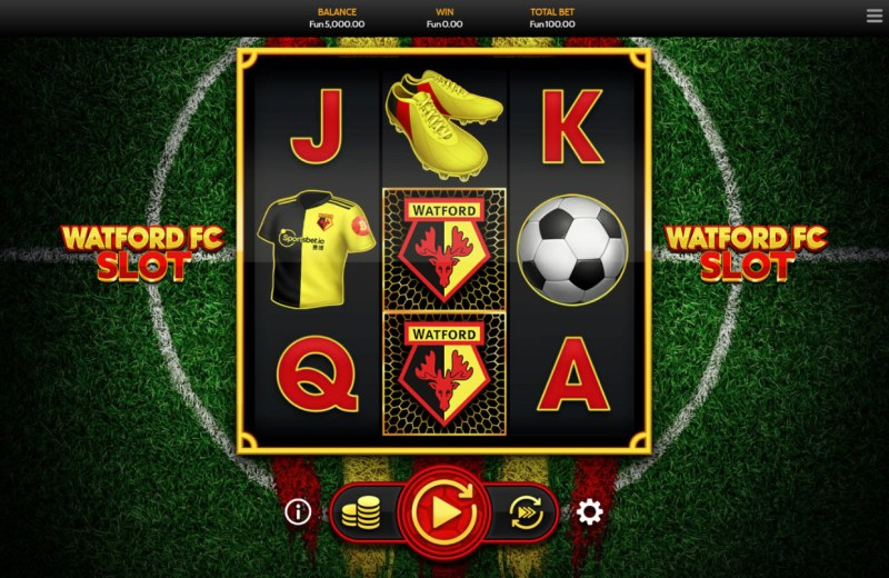Watford FC Slot :: Main Game Board