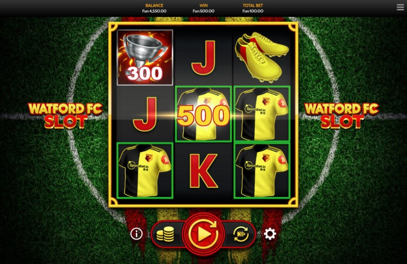 Watford FC Slot :: Multiple winning combinations