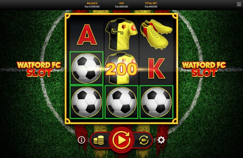 Watford FC Slot :: Three of a kind
