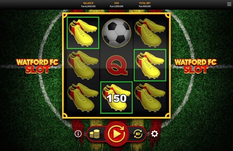 Watford FC Slot :: Multiple winning combinations leads to a big win