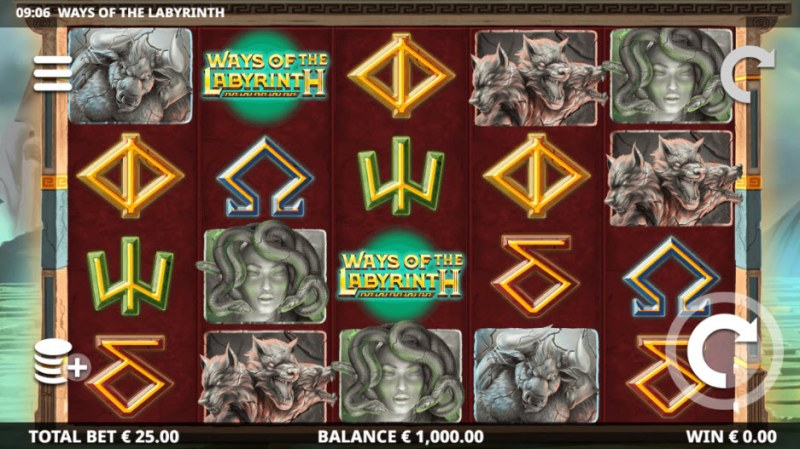 Ways of the Labyrinth :: Main Game Board