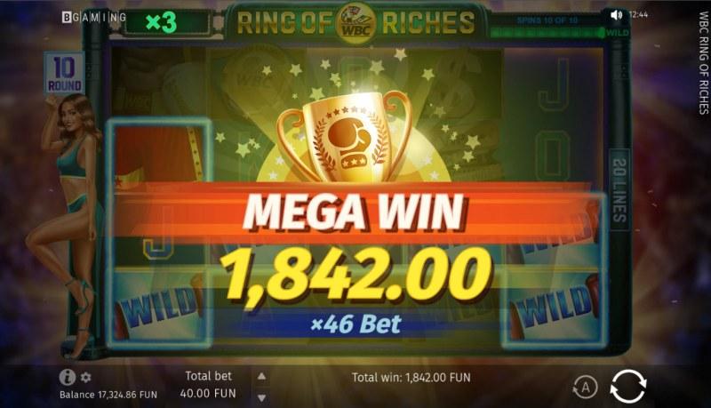 WBC Ring of Riches :: Mega Win