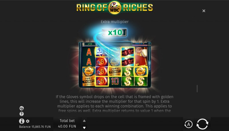 WBC Ring of Riches :: Extra Multiplier