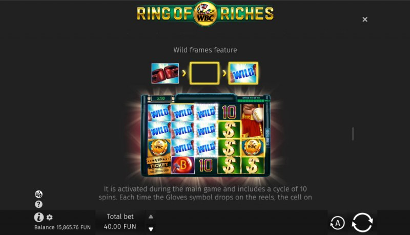 WBC Ring of Riches :: Wild Frames Feature