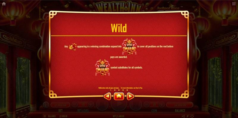 Wealth Inn :: Wild Symbol Rules