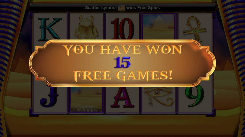Wealth of the Nile :: 15 Free Games Awarded