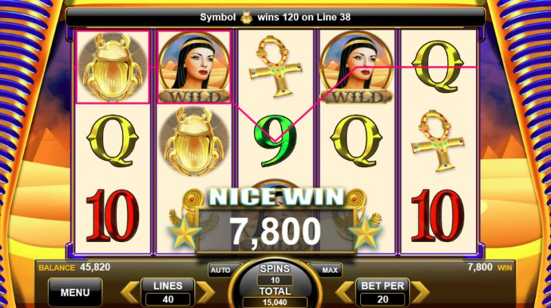 Wealth of the Nile :: Big Win
