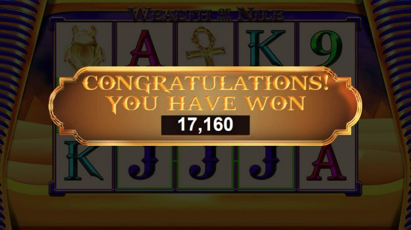Wealth of the Nile :: Total free spins payout