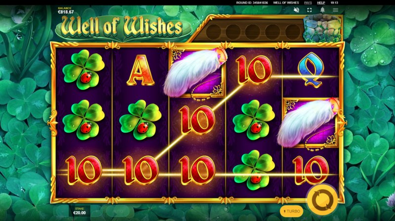 Well of Wishes :: Multiple winning paylines