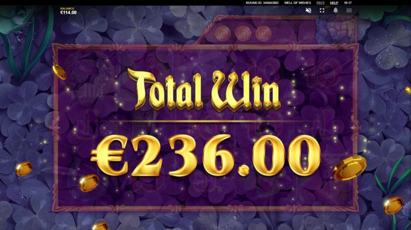 Well of Wishes :: Total free spins payout