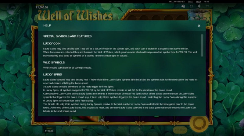Well of Wishes :: General Game Rules