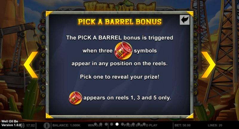 Well Oil Be! :: Bonus Game Rules