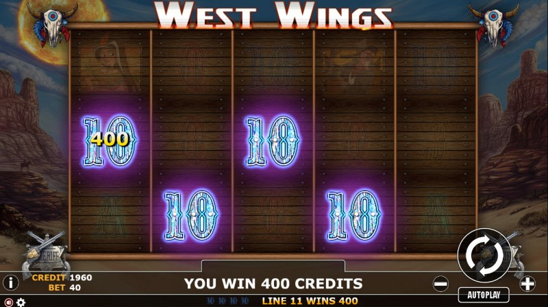 West Wings :: A four of a kind Win