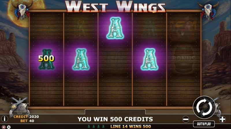 West Wings :: A winning 4 of a kind