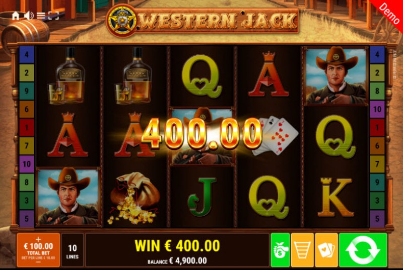 Western Jack :: Multiple winning paylines