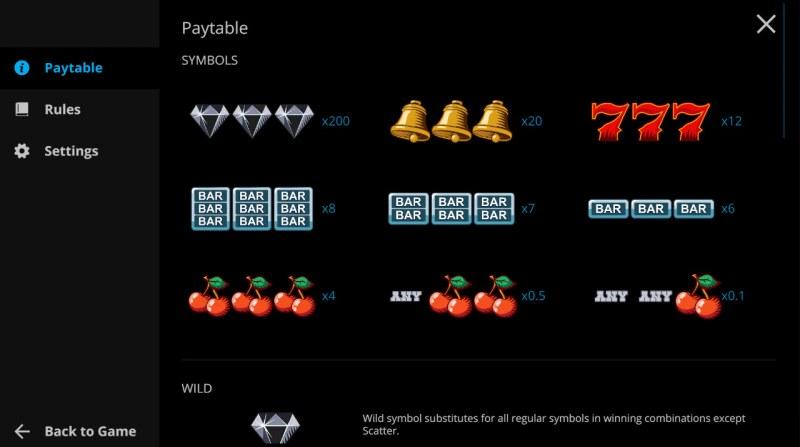 Western Reels :: Paytable