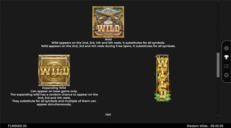 Western Wilds :: Wild Symbol Rules