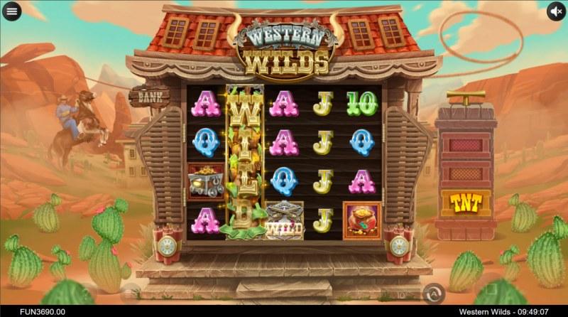 Western Wilds :: Multiple winning combinations