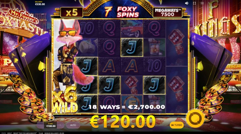 What the Fox Megaways :: Free Spins Game Board