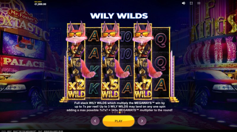 What the Fox Megaways :: Wily Wilds