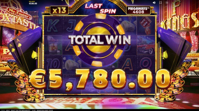 What the Fox Megaways :: Total Free Spins Payout