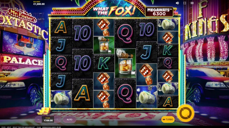 What the Fox Megaways :: Base Game Screen