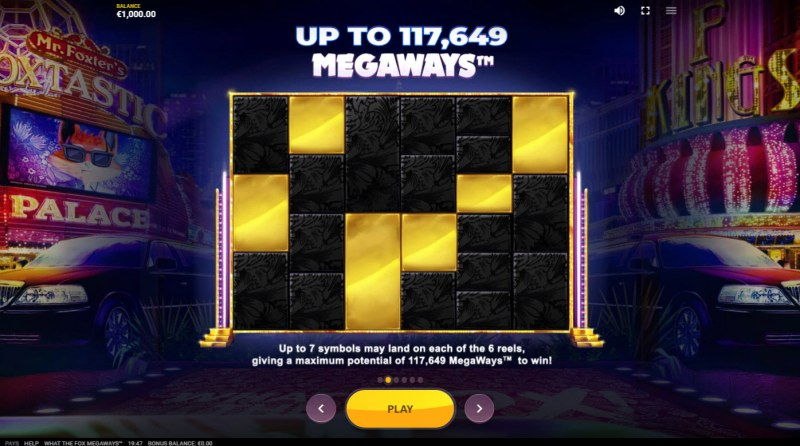 What the Fox Megaways :: Up to 117649 Megaways